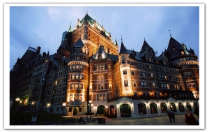 le-chateau-frontenac-at-night