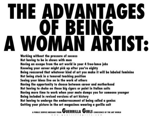 Being a Woman Artist