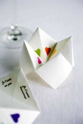 Cootie catcher- Cox and Cox