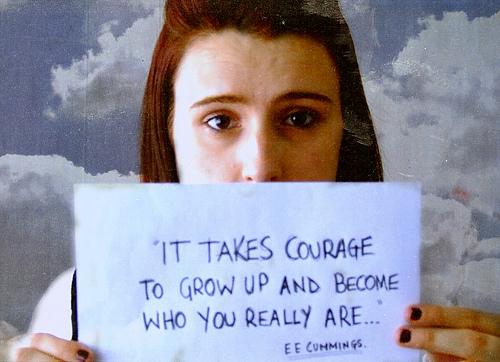 Courage ee cummings