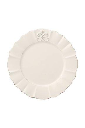 Fleur de Lys Dinner Plate