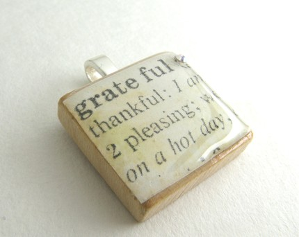 Grateful Scrabble Tile