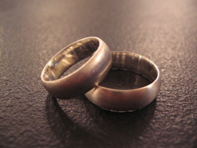 Our Finished Rings (Almost)