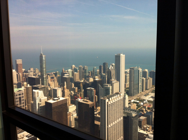 View from Sears Tower 2